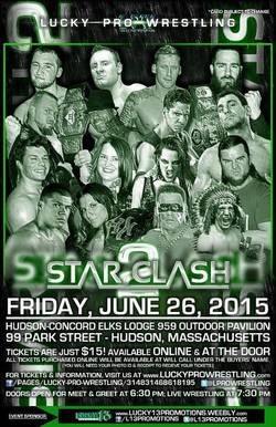 Lucky Pro Wrestling Star Clash