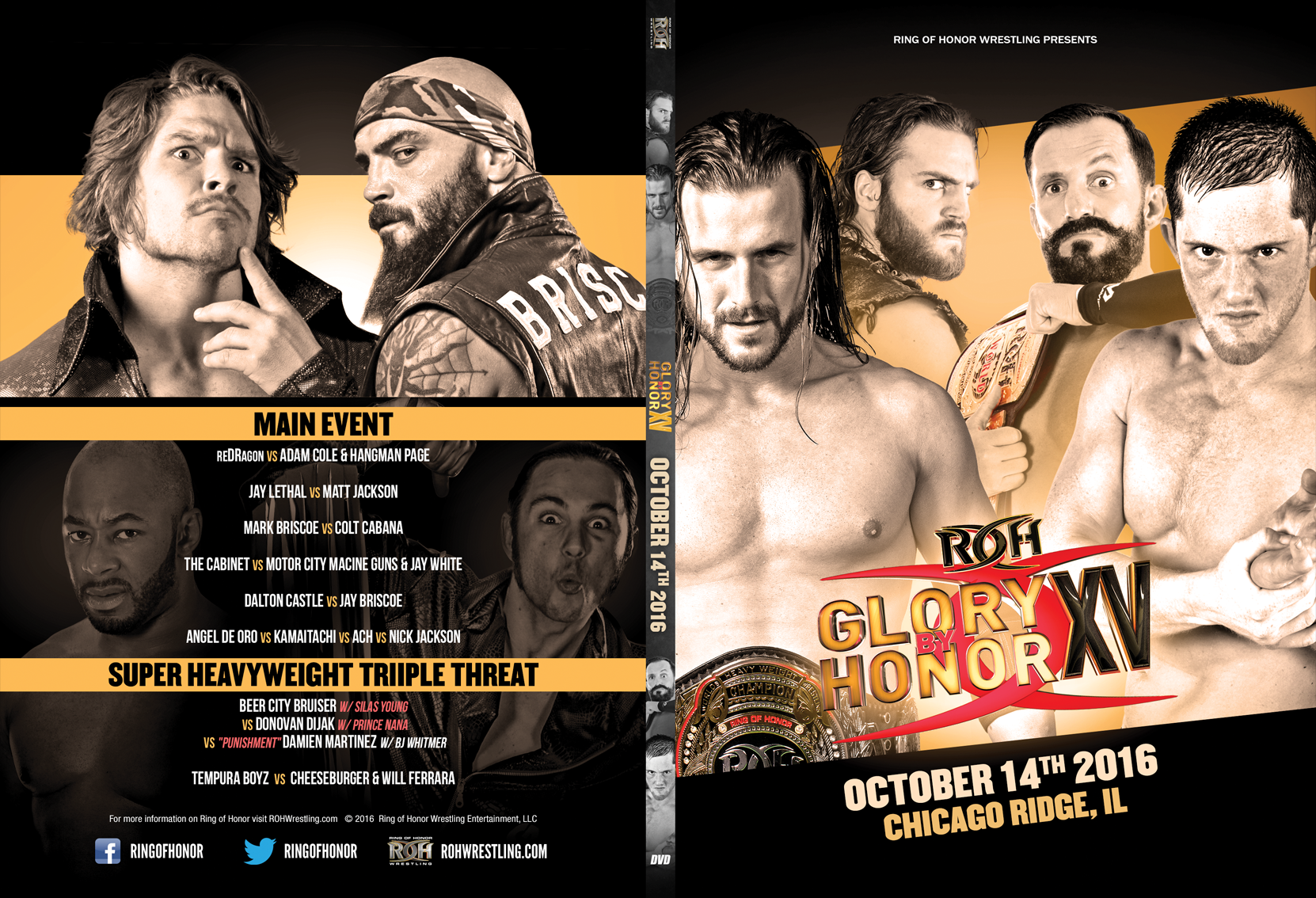 Ring of Honor Glory By Honor