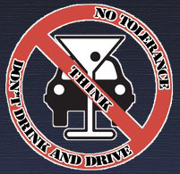 No Tolerance Think Don't Drink and Drive